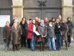 Teilnehmer der Fahrt nach Köln