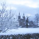 Corvey im Winter - Bildquelle: © Kulturkreis Höxter-Corvey gGmbH Schloss
