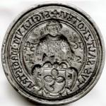 Siegel der Stadt Salzkotten von 1634 (Quelle: Stadt Salzkotten)
